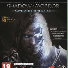 Joc consola Warner Bros Middle Earth Shadow of Mordor GOTY Xbox One
