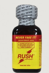 Poppers RUSH - sticluta mare - poppers - aroma camera  - original - poze reale foto