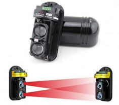 Bariera fotoelectrica cu IR pentru exterior 100m foto