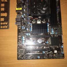 Placa de baza Asrock 970 PRO 3 cu procesor 8 core AMD FX 8350 4Ghz, Pentru AMD, AM3+, DDR 3, Contine procesor, ATX