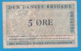 Bancnota Danemarca - 5 Ore ND (1947-1958), militara, den Danske Brigade