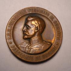 Medalie Principele Ferdinand Societatea Functionarilor Publici 1907