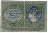 AUSTRIA 100000 KRONEN 1922 F