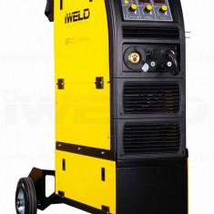 Aparat sudura MIG MAG profesional IWELD MIG 320 Digital, Trifazat, 251-450, 2-4