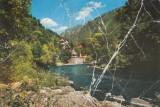 Vedere color, 96 x 144 mm, necirculata, valea Cernei, Baile Herculane, R. S. R., Printata