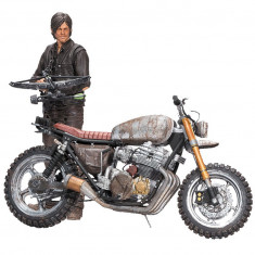 The Walking Dead Action Figure Daryl Dixon with Chopper Season 5/6 13 cm