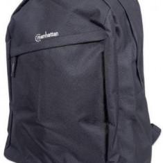Rucsac Manhattan Knappack, 15.6inch (Negru) - Geanta laptop