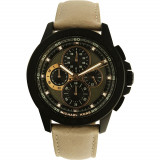 Ceas Michael Kors barbatesc Ryker MK8520 negru Leather Quartz Fashion, Michael Kors