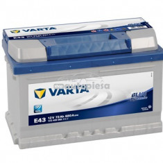 Acumulator baterie auto VARTA Blue Dynamic 72 Ah 680A 5724090683132