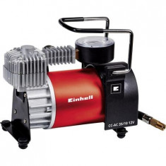 Compresor auto Einhell CC-AC 35/10 12V, 10 bar, 35 l-min - Compresor electric Einhell, Compresoare cu piston