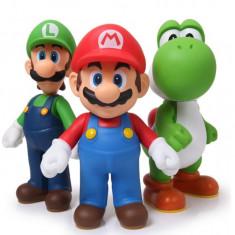 Set figurine Mario Luigi Yoshi Super Bros