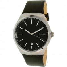 Ceas Skagen barbatesc Sundby SKW6260 negru Leather Quartz - Ceas barbatesc