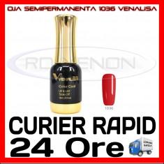 OJA SEMIPERMANENTA (PERMANENTA) SEXY RED #1036 VENALISA - MANICHIURA UV