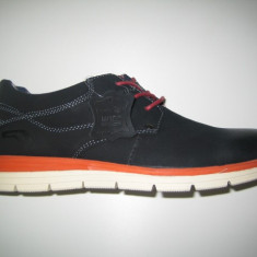 Pantofi piele barbati WINK;cod LL6263;marime:41-45 - Pantofi barbat Wink, Marime: 42, 44, Culoare: Negru, Piele naturala