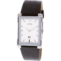 Ceas dama Citizen BG5080-05A alb Leather Japanese Quartz BG5080-05A