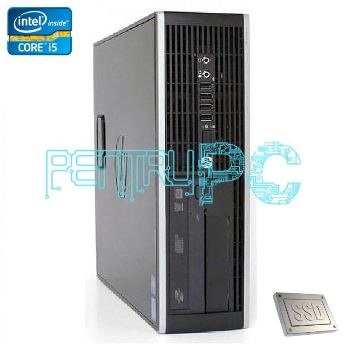 GARANTIE! Calculator HP Intel Core i5 3470 3.2GHz 8GB DDR3 SSD 120GB 500GB DVDRW