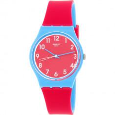 Ceas Swatch dama Originals GS145 roz Silicone Swiss Quartz - Ceas dama