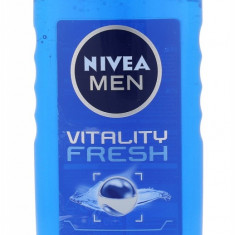 Shower Gel Nivea Men Vitality Fresh Barbatesc 250ML - Gel de dus