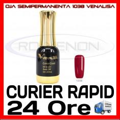 OJA SEMIPERMANENTA (PERMANENTA) BLING ROSE #1038 VENALISA - MANICHIURA UV