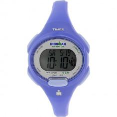 Ceas Timex dama Ironman T5K784 Blue Rubber Quartz - Ceas dama