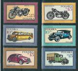 Polonia 1987 - transport, serie neuzata