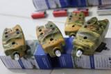 Set 4 senzori Diamant Alb, model TLI-07 cu mufa jack, baterie de 9 V, camunflaj