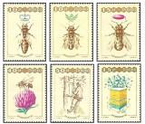 Polonia 1987 - apicultura, serie neuzata