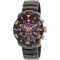 Ceas Swiss Precimax barbatesc Verto Pro SP13043 negru Stainless-Steel Swiss Chronograph