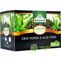 Naturavit Ceai Verde Cu Aloe Vera 15dzx1.5gr - Ceai naturist