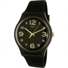 Ceas Swatch barbatesc Magies DHiver SUOB138 negru Silicone Swiss Quartz