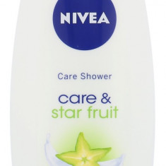 Gel de dus Nivea Care & Star Fruit Dama 500ML