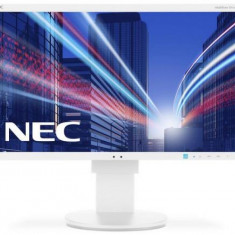Monitor IPS LED Nec 23inch EA234WMi, Full HD (1920 x 1080), HDMI, DVI, VGA, DisplayPort, USB, 6 ms, Boxe, Pivot (Alb) - Monitor LED
