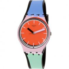Ceas Swatch dama Originals GB286 Red Silicone Swiss Quartz - Ceas dama
