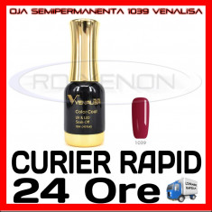 OJA SEMIPERMANENTA (PERMANENTA) CLARET RED #1039 VENALISA - MANICHIURA UV