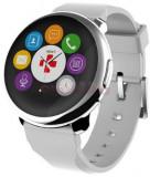 Smartwatch MyKronoz ZeRound, Ecran Touchscreen TFT 1.22inch, Bluetooth (Argintiu/Alb)