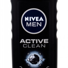 Shower Gel Nivea Men Active Clean Barbatesc 500ML - Gel de dus