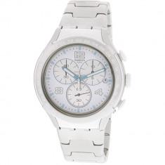 Ceas barbatesc Swatch Pure Attack argintiu Aluminum Swiss Quartz YYS4024AG