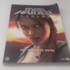 Tomb Raider - Legend - STRATEGY GUIDE