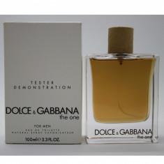 Parfum Original Dolce & Gabbana The One for Men (100ml) - pentru barbati Tester - Parfum barbati Dolce & Gabbana, Apa de toaleta