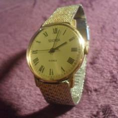 SEKONDA de luxe anii 70 mecanic - Ceas barbatesc, Mecanic-Manual
