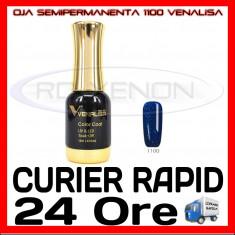 OJA SEMIPERMANENTA (PERMANENTA) DEEP PEARLY BLUE #1100 VENALISA - MANICHIURA UV