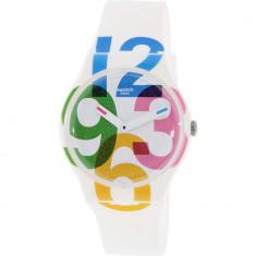 Ceas Swatch dama Originals SUOW117 alb Silicone Swiss Quartz - Ceas dama