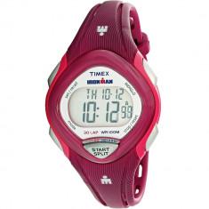 Ceas Timex dama Ironman Sleek TW5M09000 roz Plastic Quartz Sport - Ceas dama