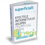Superficialii. Efectele internetului asupra creierului uman - Nicholas Carr - Carte dezvoltare personala
