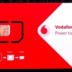 ROMANIA CARTELA Vodafone cu SIM cip neutilizata - PENTRU COLECTIONARI ** - Cartela GSM