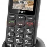 Telefon Mobil M-Life ML0639, Ecran TFT 1.77inch, 2G, Bluetooth (Negru)