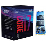 Procesor Intel Core i7-8700 Hexa Core 3.2 GHz Socket 1151 cu Intel Optane 16GB