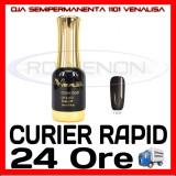 OJA SEMIPERMANENTA (PERMANENTA) PEARLY GREY BLACK #1101 VENALISA - MANICHIURA UV, Canni