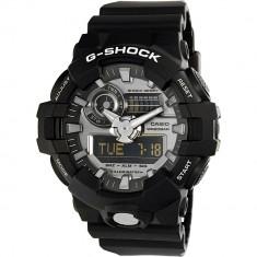 Ceas Casio barbatesc G Shock GA710-1A negru Rubber Quartz Sport - Ceas barbatesc