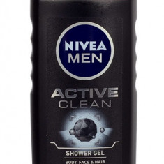 Shower Gel Nivea Men Active Clean Barbatesc 250ML - Gel de dus